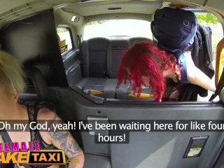 Ten/sexy/taxi gets her ride female