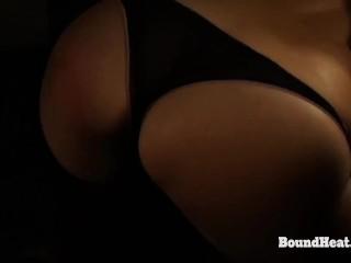 Betrayed Cargo: Maid Enjoys Ass Spanking In Thongs