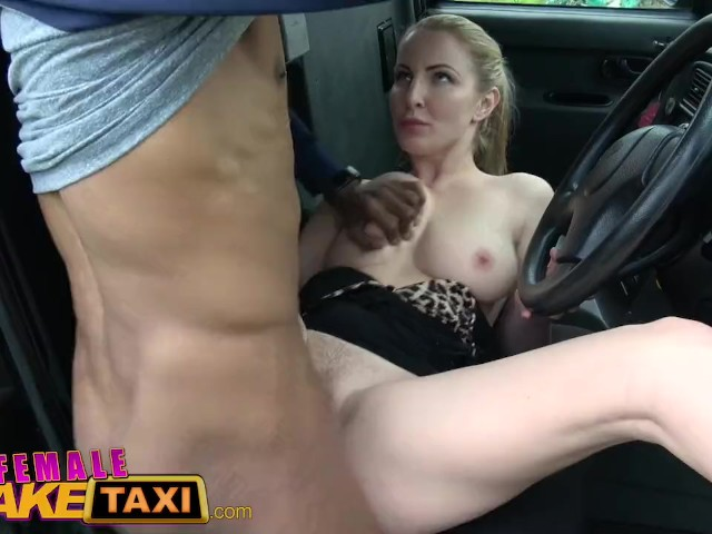 British Female Fake Taxi