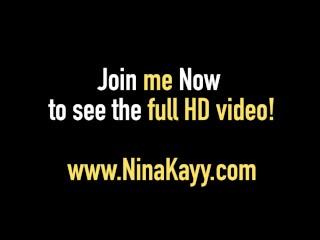 Latina Nina Kayy In Hot 4Way! 3 Big Boobed Girls & 1 Dick!