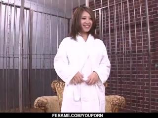 Mariru Amamiya works cock like a goddess   - More at Slurpjp.com