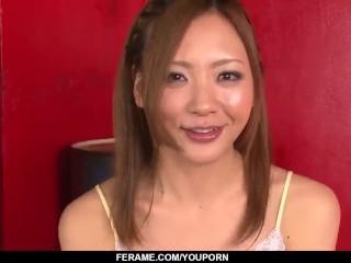 Mio Kuraki wild POV experience with a stiff cock  - More at Slurpjp.com