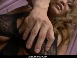 Busty Rui Akiyama loves having big cock in her - More at 69avs.com