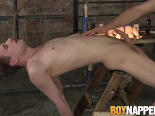 Kamyk Walker and Jack Taylor use candle wax for pleasure