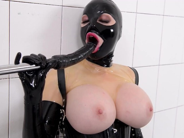 Latex Bondage Machine Fuck
