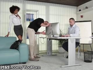 BiEmpire Hung IT Guy Ass Fucks Co-Worker!