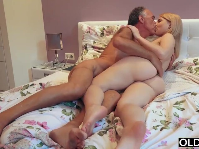 Old Young Threesome Outdoor