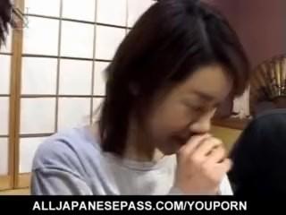 Yuki Mori screams with cock smashing her butt hole  - More at hotajp.com