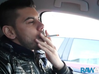 RAWEURO Straight Euro Jock Getting Smashed Raw By A Big Cock