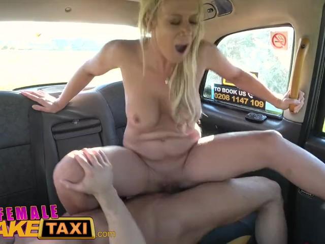 Fake Lesbian Taxi Driver