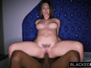 The Swinger Experience Presents BLACKEDRAW Smoking Swinger wife tries black cock