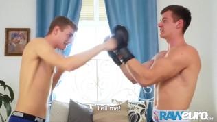 RAWEURO Young Euro Bigcocked Twink Loving Hard Bareback Sex