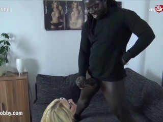 My Dirty Hobby – Busty blonde babe takes a BBC