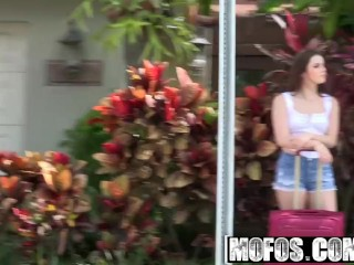Mofos - Stranded Teens - All-Natural Teens Juicy Pink Peach starring  Kylie Quinn
