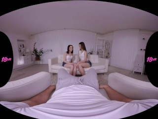 18VR.com Double Fuck Game With Tera Link And Charlotte Johnson