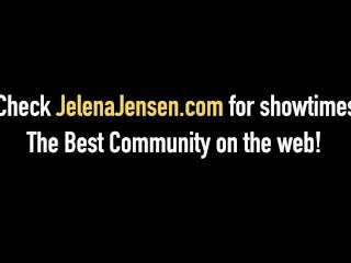 Penthouse Pet Jelena Jensen Hitachi Wands Her Pussy On Cam!