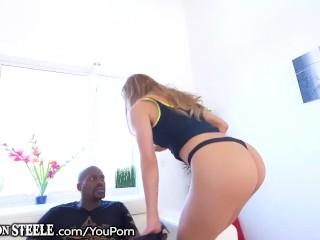 Moka Mora vs. Lex Steeles 1 Foot Cock