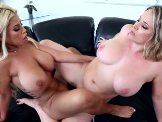 Sapphic Examination – Busty Babes Play With Their Big Tits