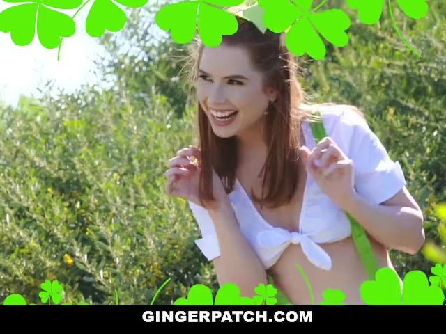 Big Tit Redhead Gangbang