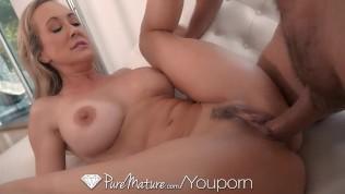 Brandi amour creampie porno