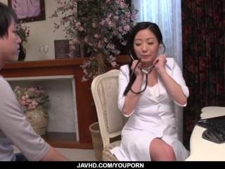 Busty Shino Izumi loves sucking the cock until orgasm  - More at 69avs.com