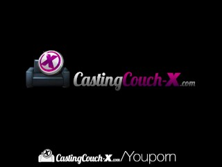 CastingCouch X Skinny newcomer Abi Grace fucked by casting agent
