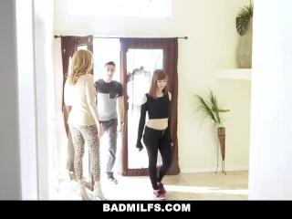 BadMILFS - Stepdaughter Alexa Nova Shares Her Boyfriends Cock With Stepmom Lauren Phillips