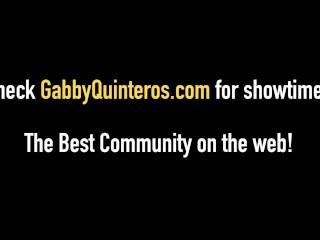 MexiMilf Gaby Quinteros Fucks A White Boy & Big Black Cock!