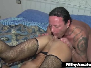 Anal and orgasm for the milfs! Cum in Mouth!