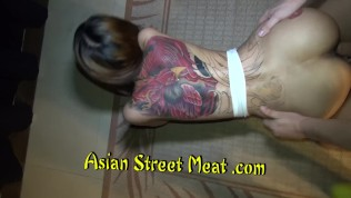 Asian Street Meat XXX  Booby Blasting Blowjob