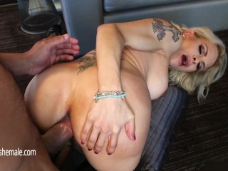 Shemale Cock sucking including Pound POV Style