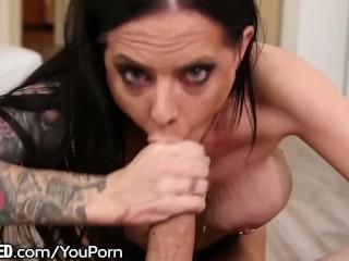 Thai Armenian Shaft Sucking older woman -VERY Dirty Cock sucking & Handjob