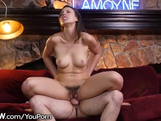 Jade Nile Throating, Dick Biting and Riding That Dick Like Mad!