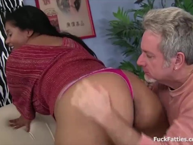 Black Mature Fucks White Cock