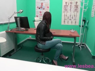 Face sitting/small lesbian hot examines teen