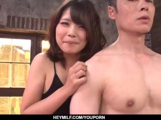 Yura Kurokawa loves the dick deep in her mouth and pussy - More at Japanesemamas.com