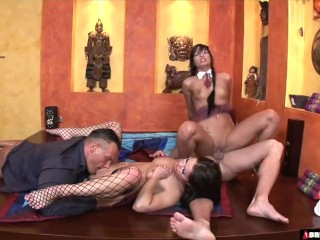 The Swinger Experience Presents Cum hungry babes in hardcore foursome