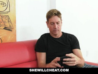 SheWillCheat - Cheating Wife Fucked By Black Masseur