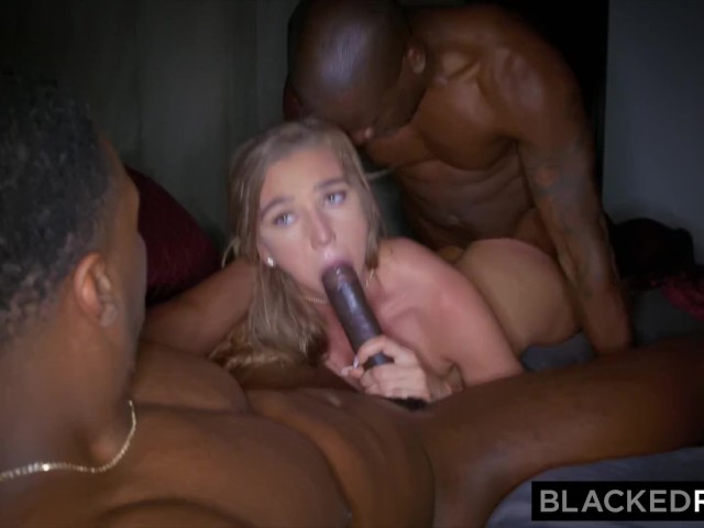 Busty Blonde Anal Threesome