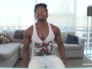 Straight Black Guy, Stripper, Big Uncut Black Dick & A Fleshlight