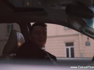 Casual Teen Sex - Rita Lee - Nerdy hitchhiker casual fuck