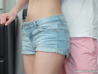 Teeny Lovers - Via Lasciva - Teen fucks her bf after a tour
