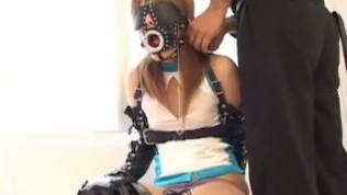 Asian BDSM With Fetish Gear And Submissive Japanese Teen