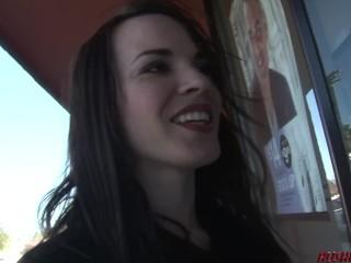 Dana DeArmond gives us her ass to a teen