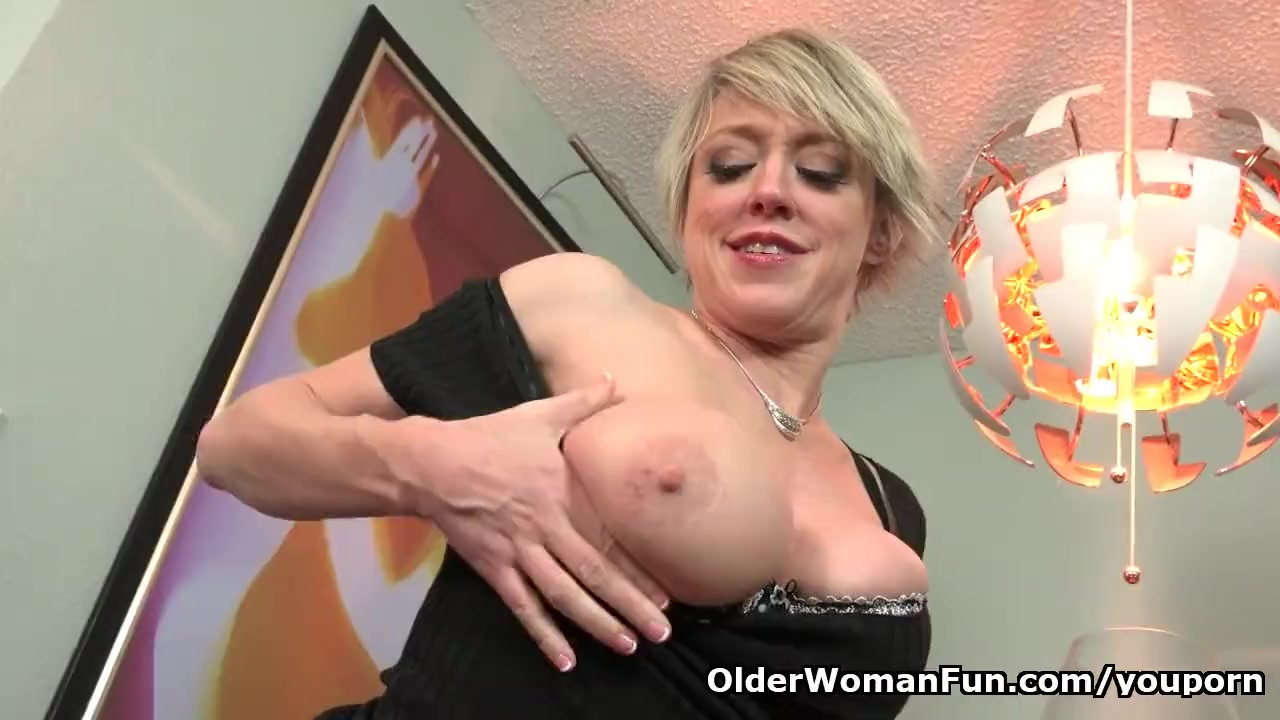 Rubbing engorged clit