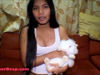 21 week pregnant thai teen heather deep go on jetski and give deepthroat creamthroat throatpie