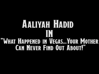 Aaliyah Fucks Her Step-Dad's Big Cock while Mom is Away!