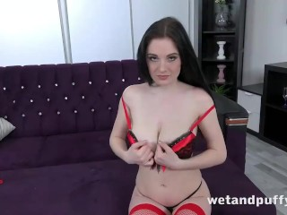 Wetandpuffy - Shy Until The Toys Come Out - Cherry Pussy