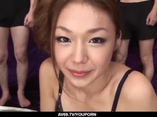 Sakura Hirota amazing gangbang in hardcore scenes  - More at 69avs.com
