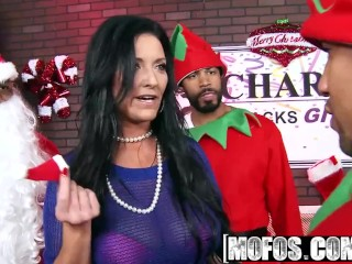 Mofos - Milfs Like It Black - Big Ds Merry Dickmas Special starring  Sammy Brooks